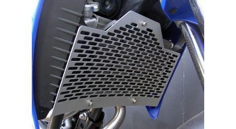 Yamaha XT660R/XT660X Radiator Shield - Anodised Silver